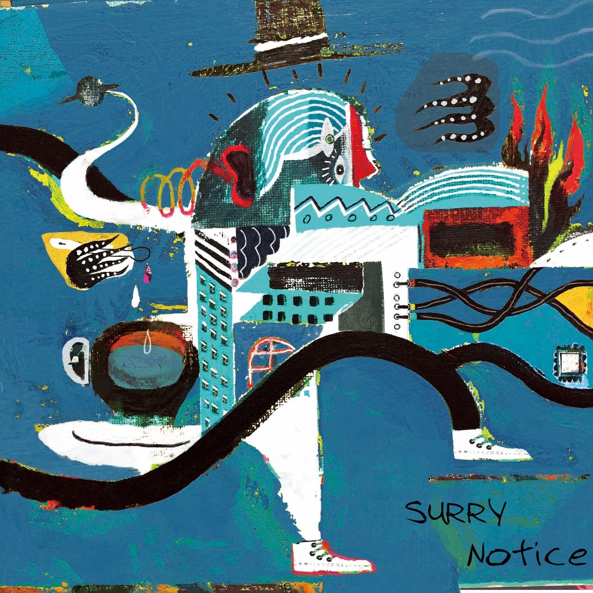 SURRY待望のニューアルバム「Notice」